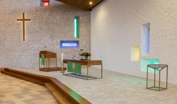 deze foto laat een afbeelding zie van de Pelgrimkerk